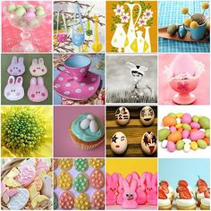 Lots of Easter decorations iii)