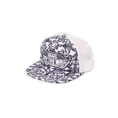 Vans Tropical island trucker cap ( 19) ❤ liked on Polyvore featuring  accessories de81a3e03b67