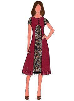 Buy Black Kalamkari Kurti online SKU Code: This Black color After Six knee length kurti for Women comes with Kalamkari Faux Georgette . Shop Now! Kalamkari Kurti, Kalamkari Dresses, Fashion Design Drawings, Fashion Sketches, Fashion Illustrations, Fashion Drawing Dresses, Fashion Dresses, Women's Fashion, Short Dresses