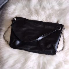 cdda541353 Zara Handbag Only used once - chain bag. Slim and boxy for a chic look