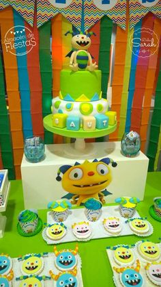 Henry Hugglemonster Birthday Party Ideas | Photo 2 of 10