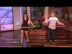 Marisa Tomei Hula-Hoops Her Way to Fitness!  THIS will MAKE YOUR DAY ! One of the BEST videos ever <3