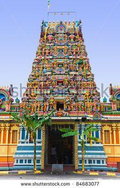 Hindu temple at Kuala Lumpur