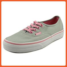 9fad6bb54fec40 Vans Authentic Women US 8 Gray Sneakers     More info could be found at the  image url.