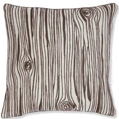 Nestle Fresh American's Wood Grain Indoor/Outdoor pillow into any seat and watch the reaction. This pillow is anything but hard. For those who love the outdoors, Wood Grain pillow is calling your name.