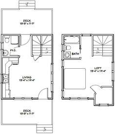 20x16 tiny houses pdf floor plans 584 sq for 16x20 floor plans
