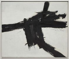 'Action painting' by Franz Kline Franz Kline, Action Painting, Painting Lessons, Painting Art, Willem De Kooning, Black And White Abstract, Monochrom, Painting Inspiration, Modern Art