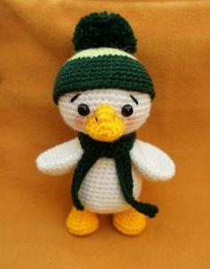 Sweet duckling amigurumi pattern