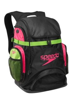Pro Backpack (Limited Edition) - Bags - Speedo USA Swimwear   Cute and all my swimming things fit inside my swim board and flippers everything!