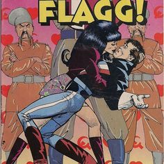 Power Item of the Day - American Flagg's can do spirit powered by being the potentate of the Chicago Plexmall in a dystopian future.