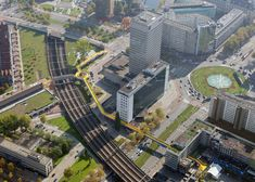 """The Luchtsingel bridge by Rotterdam studio ZUS is the """"world's first crowdfunded public infrastructure project"""". Photography by Ossip van Duivenbode"""