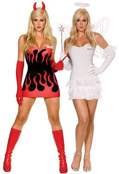 Women's Angel and Devil Costume