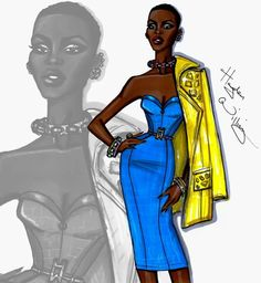 Hayen Williams is awesome! Lupita is gorgeous!