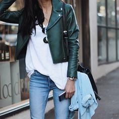 Le-Fashion-Blog-Ways-To-Wear-Green-Coat-Fall-Winter-Street-Style-Moto-Leather-Jacket-White-Tee-Skinny-Jeans-Via-Pepamack-Instagram.jpg