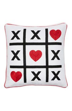 Levtex 'Tic Tac Toe' Accent Pillow available at #Nordstrom