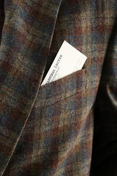 """HANNIBAL - Hannibal Lecter's (Mads Mikkelsen) """"Tome-wan"""" Three Piece Suit - Current price: $1350"""