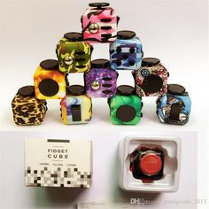 See larger image Stress Cube, Fidget Cube, Retail Box, Buying Wholesale, Stress And Anxiety, Larger, Image, Color, Colour