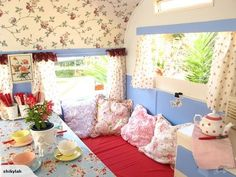CUTEST EVER SHABBY CHIC VINTAGE CARAVAN   Trade Me on imgfave