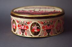 Vintage East German Tin Cookies Box by GoGoBerlinette on Etsy, €23.00