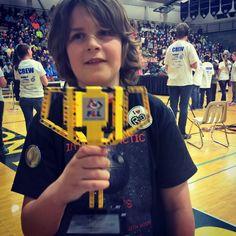 #FLL winner first place for their project. #Lego #Alaska #firstlegoleague #Alaskankids