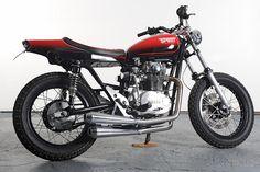 1978 Yamaha XS650 Street tracker custom-built by Spirit of The Seventies.
