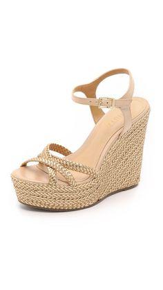 Schutz Monicah Wedge Sandals