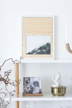 Trendy Ideas For Diy Home : Diy Holzrahmen Zum Selbermachen