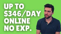 Up to $346/Day Work-From-Home Job No Experience Required 2021 Work From Home Careers, Video Notes, Sales Jobs, Day Work