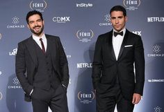 El Duque y El Dandy  I think your flipflop is in  I'll have to go there and search for it! #lito #hernando #sense8 #premiosfenix2015
