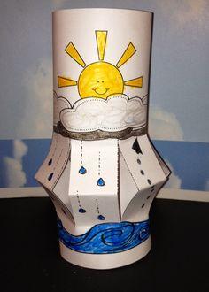 water cycle lantern More