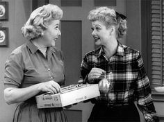 Lucy and Ethel . . . .