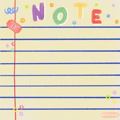 Bullet Journal Banner, Note Doodles, Cute Patterns Wallpaper, Cute Love Memes, Instagram Frame, Cute Art Styles, Cute Messages, Aesthetic Template, Kawaii Stationery