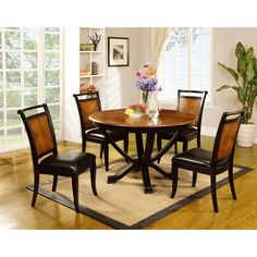 making your dining room beautiful with an espresso brown modern, Esstisch ideennn