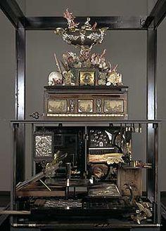 The wunderkammer through history: a Kunstchranke or miniature Kunstkammer
