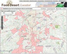 Atlanta's Food Deserts | Arkfab | Green Phoenix