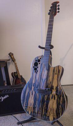Part guitar, part rorschach ink blot test.