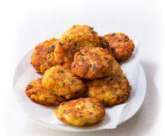 Recept Rybí karbanátky s kaší Tandoori Chicken, Ethnic Recipes, Lemon