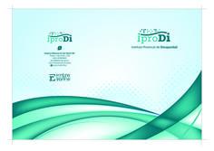 Cliente: Iprodi Trabajo: diseño de carpeta institucional