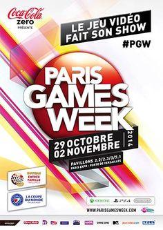 La Paris Games Week dévoile l'affiche de l'édition 2014 - La 5ème édition de la Paris Games Week, organisée par le S.E.L.L., Syndicat des Editeurs de Logiciels de Loisirs, dévoile l'affiche de sa nouvelle édition, qui ouvrira ses portes le 29 octobre ...