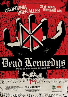 Dead Kennedys, Punk rock!                                                                                                                                                                                 More Tour Posters, Band Posters, Music Artwork, Art Music, Concert Flyer, Music Flyer, Dead Kennedys, Vintage Concert Posters, We Will Rock You