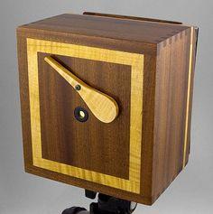 Sapele with Maple Pinhole Camera
