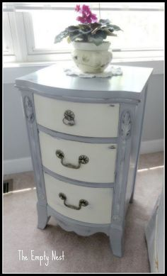 Chalk Paint Furniture Projects! • Lots of ideas & tutorials including this one from the empty nest.