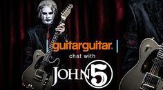 [Watch] John 5 talks to GuitarGuitar