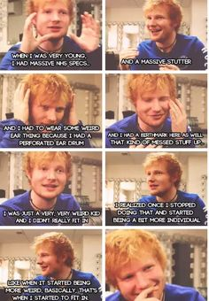 He's so precious it makes me want to cry. I love you Ed. You are truly my life's inspiration.