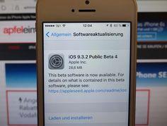 iOS 9.3.2 Beta 4 für Public Tester veröffentlicht - https://apfeleimer.de/2016/05/ios-9-3-2-beta-4-fuer-public-tester-veroeffentlicht - Es gibt Neuigkeiten für alle Public Tester. Apple hat gestern die vierte Version der Public Beta von iOS 9.3.2 veröffentlicht. Parallel dazu wurde auch eine neue Entwickler-Version des Builds angeboten. Spezielle Neuerungen gibt es nicht zu vermelden, der Build ist 28,6 MB groß. Bugfixes & St...