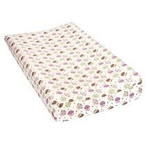 Trend Lab Flannel Changing Pad Cover, Owls