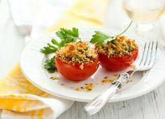Baked tomatoes with mushrooms and basil easy healthy recipes are a sweet, tangy and delicious side dish to grilled meats, seafood or fish recipes.