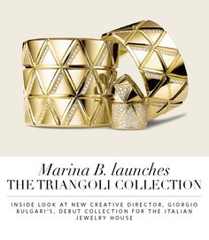 Marina B. Launches the Triangoli Collection