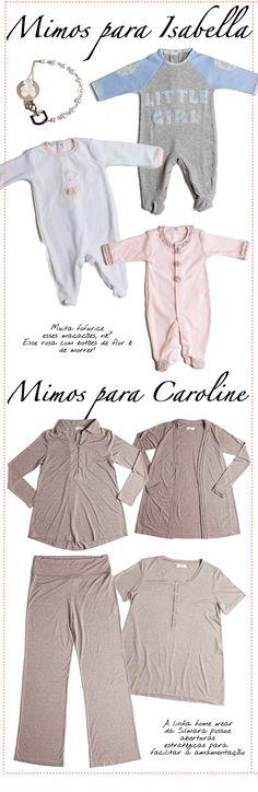 Todo mundo amou o post que contava a roupinha de maternidade de Caroline Celico, lembram? Não tenho bebê ainda, mas não tem como resistir ver aqueles peças pequeninas, cheias de frufrus…. Não…
