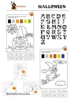 Coloriage Halloween Diy Halloween, Theme Halloween, Holidays Halloween, Classroom, Activities, Math, School, Caramel, Crafts